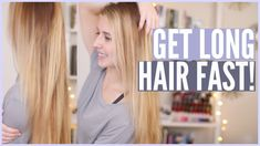 Grow your hair really long, FAST with these helpful tips, tricks & DIY hair masks!