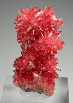 Rhodochrosite From NChwaning Mine Kuruman Northern Cape Prov Credit DI Anton Watzl Visit Amazing Geologist For More