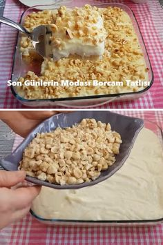 Son Günlerin Modası Borcam Tatlısı This easy dessert recipe for those who love milk dessert recipes will be one of Dessert Cake Recipes, Köstliche Desserts, Healthy Dessert Recipes, Cupcake Recipes, Easy Cake Recipes, Baking Recipes, Cookie Recipes, Delicious Desserts, Heart Healthy Desserts