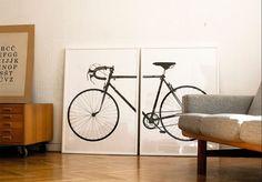 Cykel i tryck.