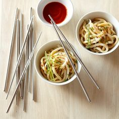 Stainless Steel Chopsticks Set #williamssonoma