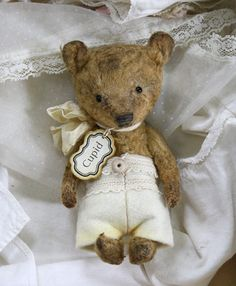 Cupid bear Pattern Instructions for the little by theoldpincushion