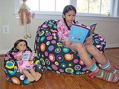 Lil Me Bean Bags - For your child and their doll -  #MadeInUsa