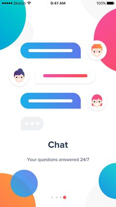jpg by Dmitri Litvinov - Chatbot - The Chatbot Device which help to provide customer service in - www. Web Design, App Ui Design, User Interface Design, Flat Design, Mobile App Design, Mobile App Ui, Splash Screen, Application Design, Ui Web