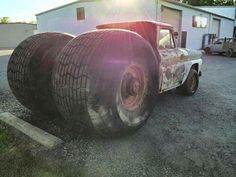 pictures of rat rod trucks Rat Rod Cars, Hot Rod Trucks, Cool Trucks, Big Trucks, Chevy Trucks, Rat Rods, Truck Drivers, Dually Trucks, Semi Trucks