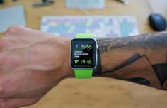 Your Apple Watch and Your Tattoo Don't Get Along, Confirms Apple