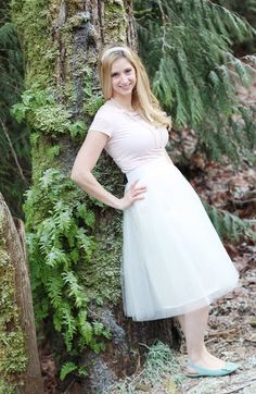 diy tulle skirt tutorial by sew much ado