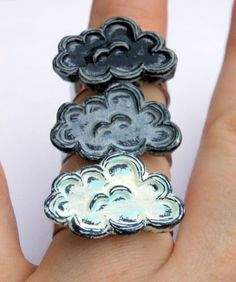 Cloud Mood Ring - Silver $25.00