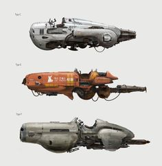 ArtStation - Speeder Exploration, Egor Kudashkin