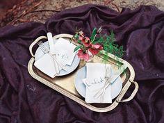 Elegant Picnic in Purple and Mauve | Perry Vaile Photography | http://heyweddinglady.com/fine-art-adventure-loving-redwood-elopement/
