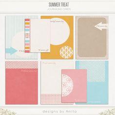 Summer treat {Journal blocks}