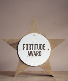 The Fortitude Award on Industrial Design Served