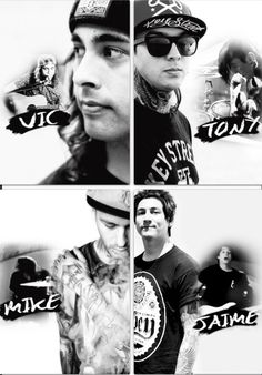 Pierce The Veil. Fuentes, Perry, Fuentes, Preciado