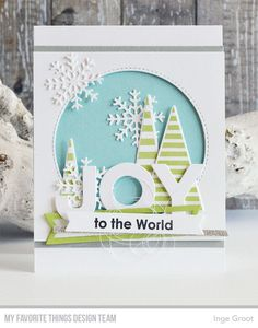 MFT September Card Kit, Filled with Joy Day 1 (Patterned Paper) Christmas Cards 2018, Homemade Christmas Cards, Christmas Tag, Xmas Cards, Diy Cards, Handmade Christmas, Homemade Cards, Holiday Cards, Christmas Scenes