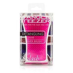 Aqua Splash Detangling Shower Brush - # Pink Shrimp (For Wet Hair) - 1pc