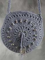 Denim Bag & Belt Crochet Pattern Lots of free patterns on this site