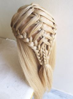Crossed triple braids