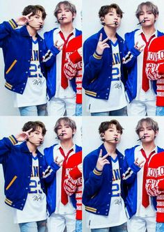 Taehyung and Jungkook.my forevers Namjin, Taekook, Love Is, I Love Bts, Billboard Music Awards, Yoonmin, Bts Taehyung, Bts Bangtan Boy, Kpop