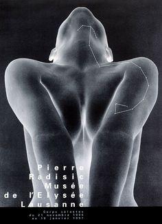 Werner Jeker Celestial bodies, photo exhibition on Pierre Radisic, 1997 jpg Graphic Design Poster Graphic Design Fonts, Graphic Design Illustration, Graphic Art, Print Design, Lausanne, Poster Shop, Poster Prints, Museum Poster, Catalog Design