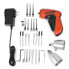 Advanced Plug Spinner Quick Turning Lock Opener Tool Kit