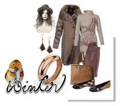 """""""Beautiful leather and Suede Look"""" by julidrops on Polyvore featuring AG Adriano Goldschmied, SOREL, INC International Concepts, Burberry and GE"""
