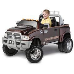 KidTrax Ram 3500 Dually Longhorn Edition 12-Volt Battery-Powered Ride-On Review