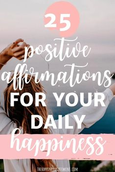 Affirmations have the ability to change your life by altering your mindset. Use these positive affirmations to speak life into your purpose, your goals, and your confidence. Positive Affirmations to Increase Happiness - The Happiness Agreement Affirmations For Happiness, Morning Affirmations, Positive Affirmations, Positive Energy Quotes, Positive Mindset, Goal Quotes, Life Quotes, Growth Quotes, Peace Quotes