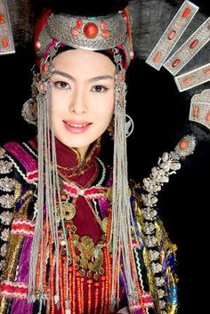 Mongolian people | Mongolian women have always had a prominent position in Mongol society ...