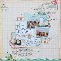 Up The Cascade by MissSmith @Two Peas in a Bucket
