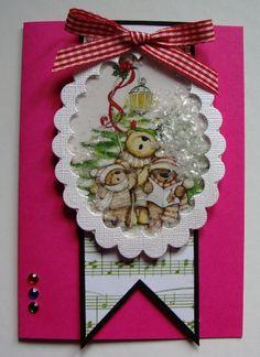Shaker Christmas Card - Scrapbook.com