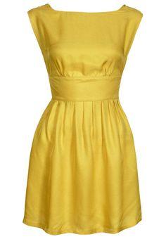 Sessun yellow dress