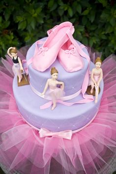 Ballerina Cake..I would have loved this as a little girl.