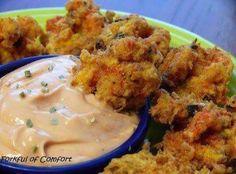 Shrimp or Crawfish Beignets and Cajun Sauce Recipe