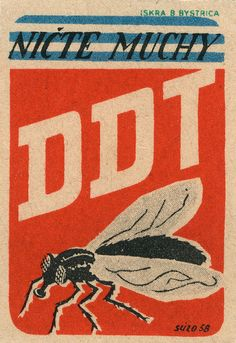 czechoslovakian matchbox label >This would make a great oversized poster