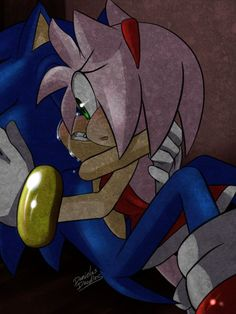 I could see this happening after a big battle and Amy was gone. Sonic was… Sonic The Hedgehog, Silver The Hedgehog, Shadow The Hedgehog, Amy Rose, Shadow And Amy, Sonic And Shadow, Sans E Frisk, Sonic Y Amy, Sonamy Comic
