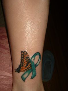 This would be the only tattoo I would ever wanna get for my kidney transplant...plus I love butterflies!