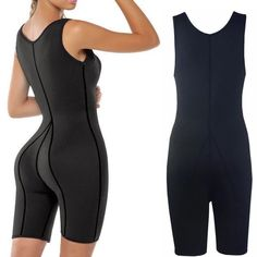 Black One Piece Jumpsuit, Full Body Shaper, Full Body Suit, Womens Bodysuit, Body Sculpting, Corset, Sexy Women, Exercise, Business