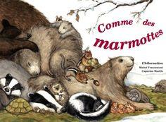 겨울잠 자는 동물들 | Hardcover: 40 pages, sep. 2012  겨울잠을 자는 다양한 동물들의 세계를 살펴보는 책이다. 잠을 잘때 그들의 심장은 천천히 박동하고 몸의 온도는 내려간다. 고슴도치는 숨을 쉬지 않고 한 시간을 견딜 수 있다. 여름내내 이 동물들은 겨울을 대비해 잘 먹어 음식을 비치해 둔다.