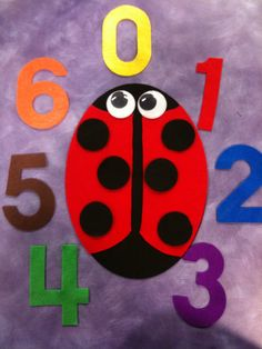 What Happens In Storytime...: Flannel Friday - Pretty Ladybugs