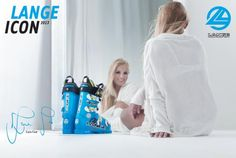 When Bob Lange developed the plastic ski boot in 1962 he knew he was onto something good. In the first Lange girl poster was released, and ski boots suddenly became sexy. Ski Posters, Girl Posters, Lange Boots, L Icon, Ski Equipment, Ski Racing, Ski Girl, Alpine Skiing, Ski Ski