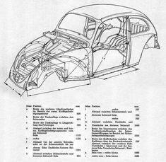 Wiring diagram in color. 1964 VW bug, beetle, convertible