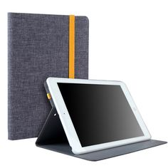 For ipad Air 2 Luxury Jeans Denim Canvas + Silicon Leather Case With Stand Holder Cover for iPad 6 9.7'' Tablet Cases