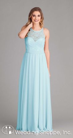 d2ce3e8775d A sophisticated lace and chiffon bridesmaid dress that gives you  traditional style with modern flair.