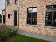 Modern Brick House, Modern English, Brickwork, English Countryside, Garage Doors, Sweet Home, Cottage, Exterior, Windows