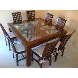 mesa comedor sillas mesa comedor sillas mesa de comedor de teka maciza