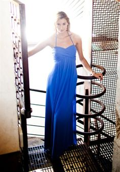 Bridesmaid, would be cute for a beach wedding. another long flowing dress. Still would change to purple