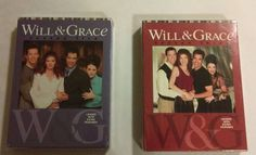 Will And Grace Seasons 3 & 5 DVD's New Sealed (NBC)