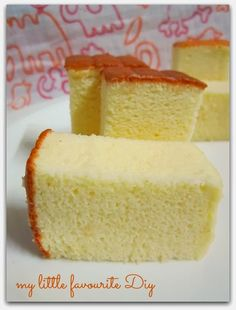 my little favourite DIY: Durian cotton cheese cake *** To try ***