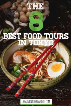Food Tours in Tokyo: The Secret Tastes of Tokyo - Are you looking for the best food tours in Tokyo? From exploring Tsukiji Fish Market to the ultimate ramen experience, these are 8 food tours you need to try! >> Click through to read the full post! Japan Travel Tips, Asia Travel, Tokyo Food, Drinking Around The World, Good Food, Yummy Food, Best Places To Eat, Foodie Travel, Street Food