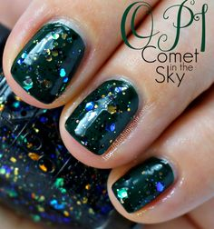 OPI Comet in the Sky from the Gwen Stefani Nail Polish Collection for Holiday 2014
